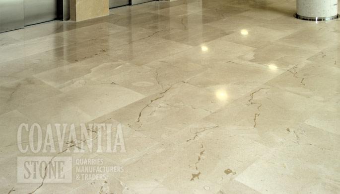M rmol cream marble crema levante for Suelo marmol beige